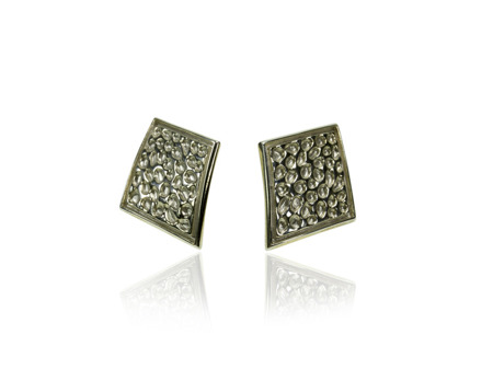 Earrings Vesuvio White
