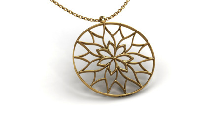 Necklace Yorkshire Gold
