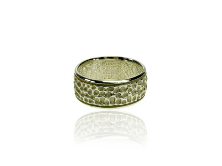 Ring Vesuvio White