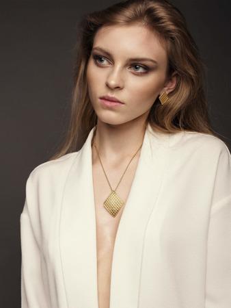 Halskette Baltic Weiß
