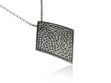 Halskette Vesuvio Schwarz