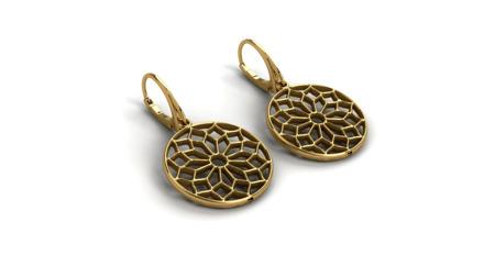 Ohrringe Chartres Golden